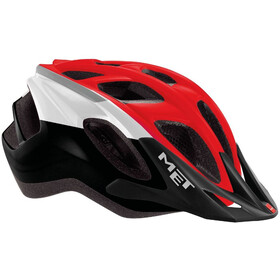 MET Funandgo Helmet black/red